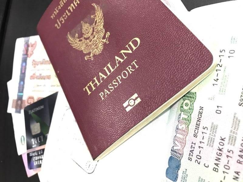 เอกสารทั่วไปที่ใช้ในการขอวีซ่าเดินทางท่องเที่ยว